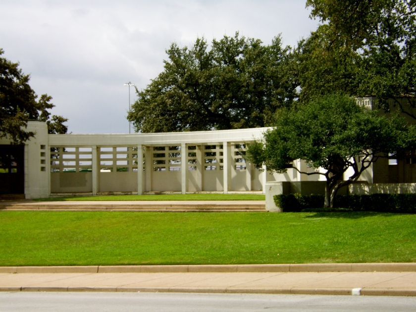"The grassy knoll  - many books have been written about the ""shots"" heard from this area."