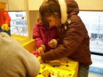 Playing at the Lego Store