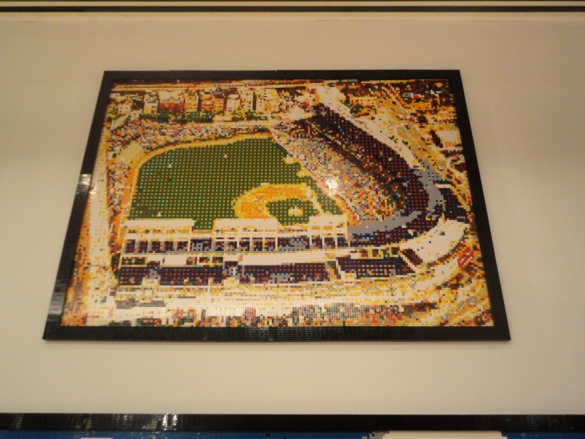 Lego Wrigley - very cool.