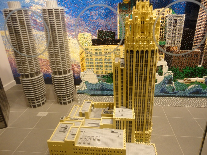 Three dimensional Lego Chicago - very cool.