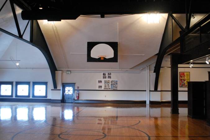 Where Ronald Regan played basketball