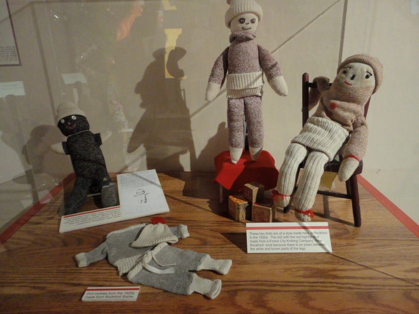 Some of the earliest sock monkeys - from the 1920s