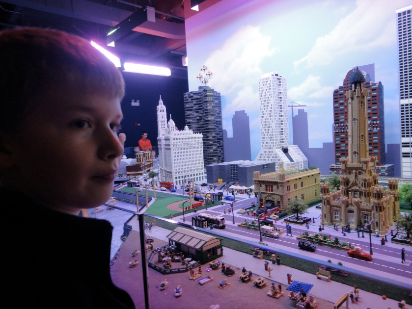 Chicago - in Legos
