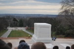 Tomb of the Unknown Soldier with thousands of school kids crowded around us.