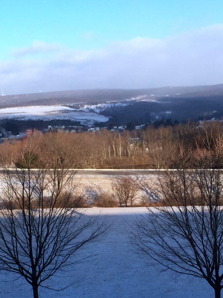 A frosty morning in Frostburg, Maryland