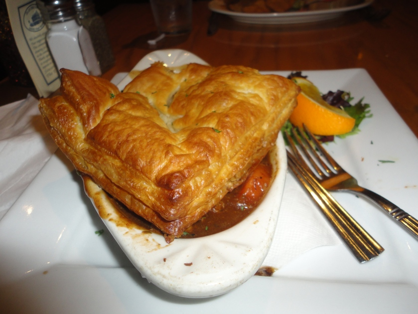 The Guinness Sirloin Tip Pie